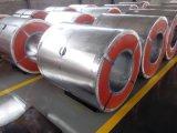 A cor de SGCC Z80 Ral9016 revestida galvanizou a bobina de aço para o material de telhadura