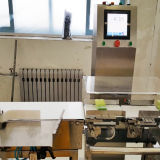 Máquina da balança de controlo de Digitas e transporte em linha do peso