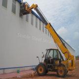Edifício popular da ereção da construção de aço da luz do estilo para o armazenamento