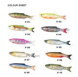 Pr-Bsa60/90 passte künstlicher Köder-weichen Fisch-Fischen-Köder an
