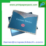 Cadre de empaquetage de bonne qualité de bijou de cadeau à extrémité élevé de papier