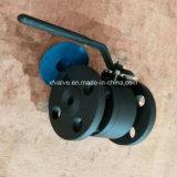 API602 150lb schmiedete Stahlanschluß-Enden-Kugelventil des Flansch-A105