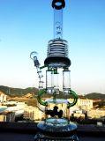 Bienenwabe Incycler des Großverkauf-21 des Zoll-3 Doppelquerglaswasser-Rohr
