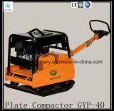 Compacteur en pierre vibrant hydraulique Gyp-40 de plaque