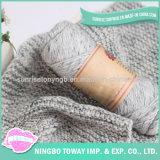 Écharpes en gros chaudes de tricotage à la main acryliques de coton de l'hiver