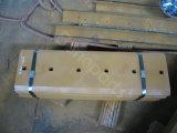 Бульдозер переднего края двойного скоса замены 154-81-11191 лезвия грейдера переднего края машинного оборудования конструкции плоский