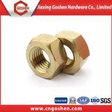 Ecrou hexagonal en cuivre DIN934 / écrou hexagoné en laiton à bas prix