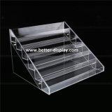 Custom Clear Acrylic Nail Polish Floor Standing Rack Display