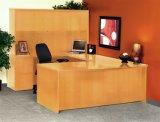 Meubles de bureau d'acajou d'hôtel de bureau de forme de la couleur U (HX-N00040)