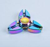 Bunte drei Winkel-Befestigungsklammer geformter Handunruhe-Spinner der Peilung-R188
