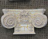 Interior&Exteriorの装飾PUのローマのコラムかピラスターHn8803