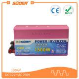 Suoer 1500W 12V 220V de la C.C. de la red al inversor de la corriente ALTERNA (KFA-1500A)