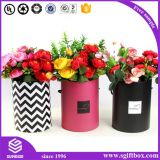 Rose Waterproof Round Tube Flower Paper Packaging Gift Box