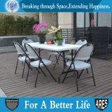 의자 회색 정원을 접히는 가벼운 옥외 강철 & 플라스틱