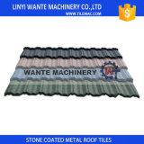 다채로운 돌 입히는 금속 지붕은 도와, 강철 기와, 알루미늄 아연 강철 기와를 지붕널로 인다