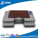 Coberturas de juntas de expansão de concreto em alumínio