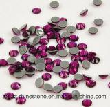 Stenen van het Glas van de Kleur van de AMERIKAANSE CLUB VAN AUTOMOBILISTEN DMC van de Steen van het Kristal van Bling de Fuchsiakleurig Decoratieve