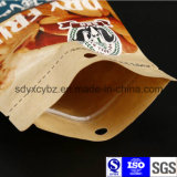 Подгонянный размером мешок Kraft бумажный с плоским дном