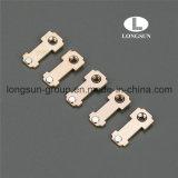 Nickel-überzogenes Kupfer-Kontakt-Platten/Messing-bewegende Kontakte