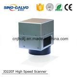 Varredor do Galvo da abertura de Jd2207 12mm para a máquina da marcação da fibra e do laser do CO2