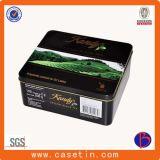 Metallgeschenk-Tee-Zinn-Kasten für das Plätzchen-Süßigkeit-Verpacken