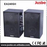 Jusbe Ea-240gii 50watts 4 Ohm Multimedia 2.0 Altifalante de monitor ativo 2.4G Tecnologia sem fio para ensinar escritório Sistema de som de áudio