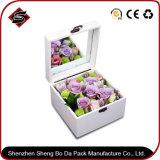 Flor modificada para requisitos particulares de la insignia de la impresión/rectángulo rígido/de madera para el regalo