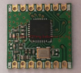 módulo do rádio do módulo Rfm69c do transceptor de 315-915MHz RF