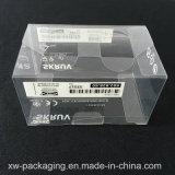 Caixa de dobramento plástica desobstruída da alta qualidade para o empacotamento eletrônico da bolha
