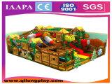 Campo de jogos interno da terra do divertimento do tema da selva para os miúdos (QL-1111C)