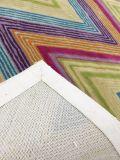 ウールおよび絹のカーペットのHandtuftedのカーペット