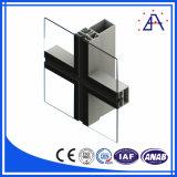 Perfil de alumínio para Estrutura de parede de cortina de construção