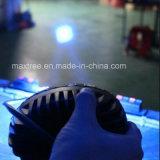 クリー族LED 2PCS*3Wの青い点ポイントライトフォークリフトの警報灯