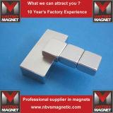 Квадрат и прямоугольные магниты редкой земли неодимия блоков