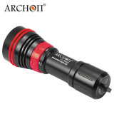 Diodo emissor de luz video Flashlight+26650+Charger do vermelho do mergulho do CREE XP-G2 R5+XP-E N3 do Archon W32vr