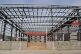 Estructura de acero galvanizado caliente Q345 del DIP, estructura de acero prefabricada