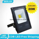La lampada impermeabile 20W raffredda l'indicatore luminoso di inondazione esterno bianco del LED