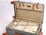 Grosse Kapazitäts-wasserdichte Nylonbeutel-Laufkatze fahrbares reisendes Gepäck