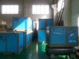 Compresseur d'air mû par courroie assurément industriel de vis de qualité et de quantité