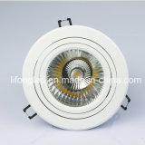 Diodo emissor de luz Downlight da ESPIGA do entalhe 25W do diodo emissor de luz CRI90 140mm do poder superior
