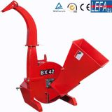 com trator do Ce Shredder Chipper de madeira montado (BRH80)