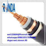 21KV 35KV stak Gepantserd pvc van de Draad van het Staal van XLPE Elektrische kabel in de schede