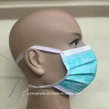 Masker van het Gezicht van de Rang van de Leverancier van China het Medische In te ademen Niet-geweven met Banden