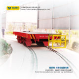 Bobina de aço de China 25t que carreg o carro de transferência material nos trilhos