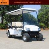6 Seaterのセリウムの証明のゴルフコース(後部フリップシート)のための電気ゴルフカート