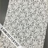 Tela dispersada do laço do algodão do projeto da pétala