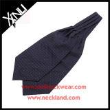 Relation étroite tissée en soie de foulard de Mens de 100%