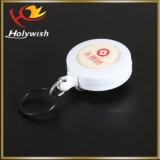 Suporte de emblema retrátil da alta qualidade para o carretel da chave da tração do possuidor de cartão