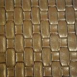 Couro sintético de venda quente para a decoração de Upholstery (HTS014)