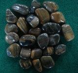 Камень камушка кожи тигра Size2.5-5cm высокий Polished для Landscaping сада